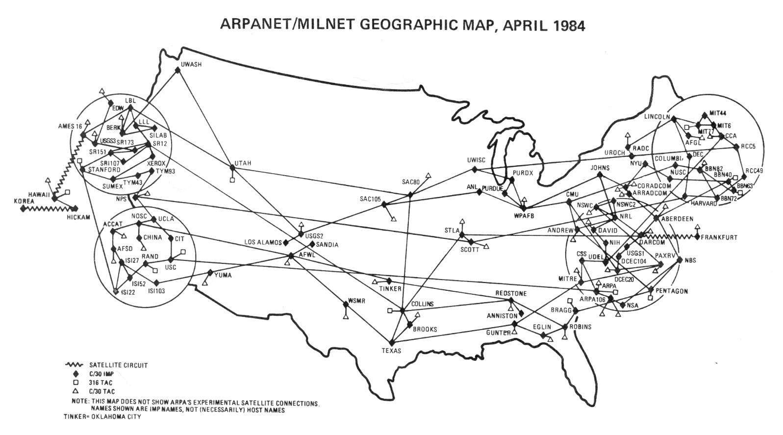 ARPANET Technical Information:...
